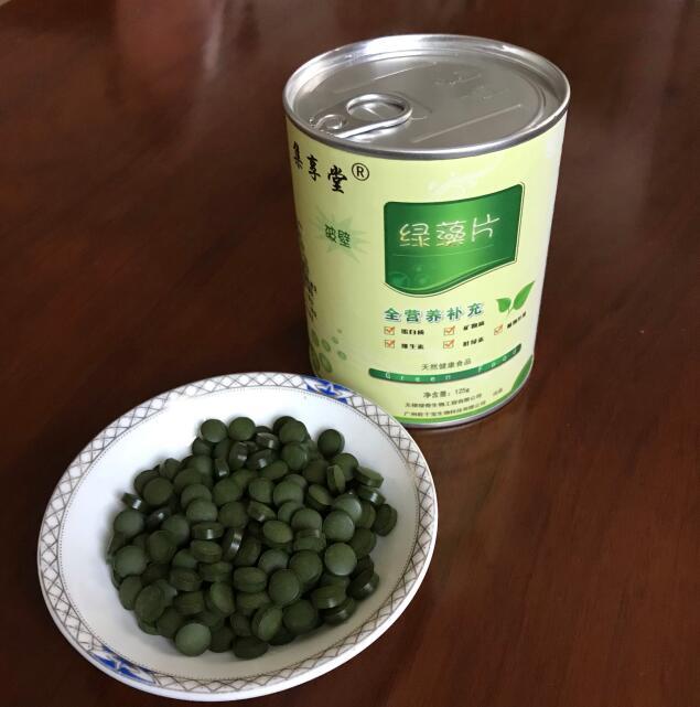 绿藻片包装