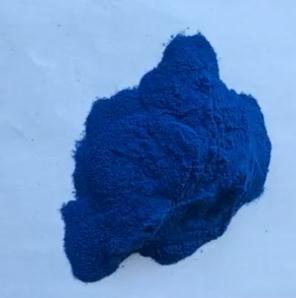 供应 螺旋藻提取物--螺旋藻藻蓝蛋白 色价E18 自有生产基地 具出口食品许可备案(白纸)